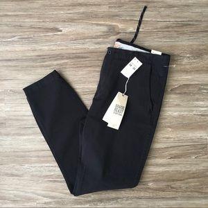 Dockers Alpha Jogger Pants Tapered Leg Black 34x34